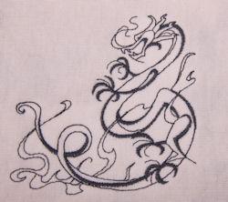 Inky Dragon