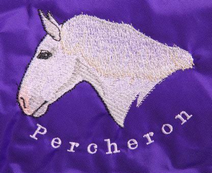 Gray Percheron Head