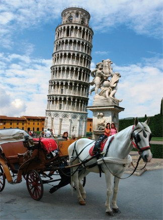 The Tower of Pisa Puzzle