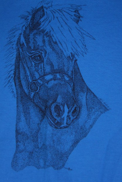 Miniature Horse Head in Halter T-Shirt