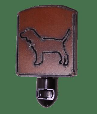 Universal Ironworks Rustic Metal Beagle Dog Night Light