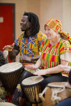 This project enabled them to explore their creativity through African drumming, writing, singing, mindful movement and film-making. They also produced a book of creative writing and a DVD and performed as a choir at local venues.