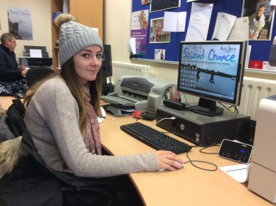 Ciara said her experience at Big Lottery Fund opened up a lot of doors for her and helped her to get her current job.