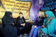 Daniel with other students from the Give and Take: Start Programme