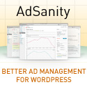 AdSanity gives your WordPress site powerful but simple ad management.