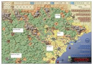 Tonkin map with scenarios