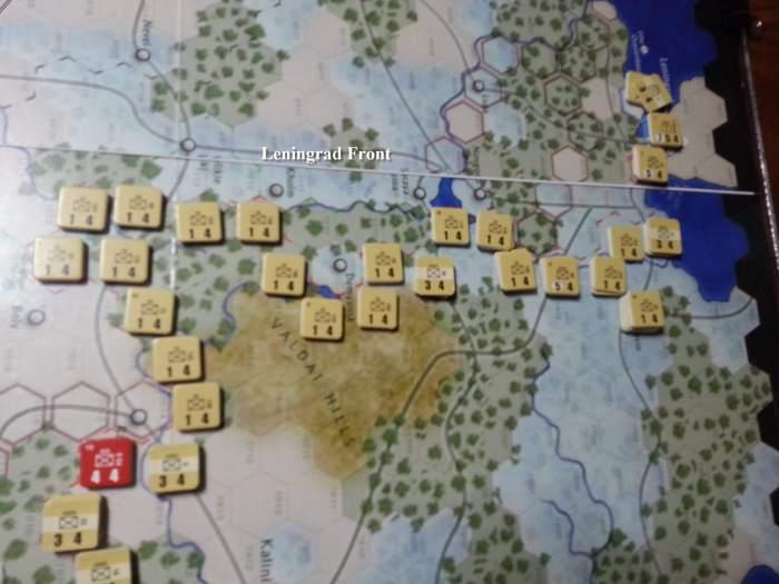 Case Blue Board Game : The dark valley case blue scenario