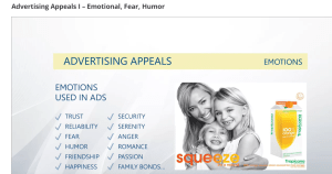 emotion appeal advertising