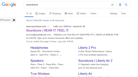 soundcore seo problem