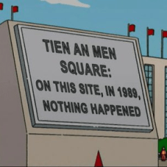 China Block Facebook and Twitter for Tien An Men Square Massacre Anniversary