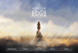 Along the Edge Title Screen