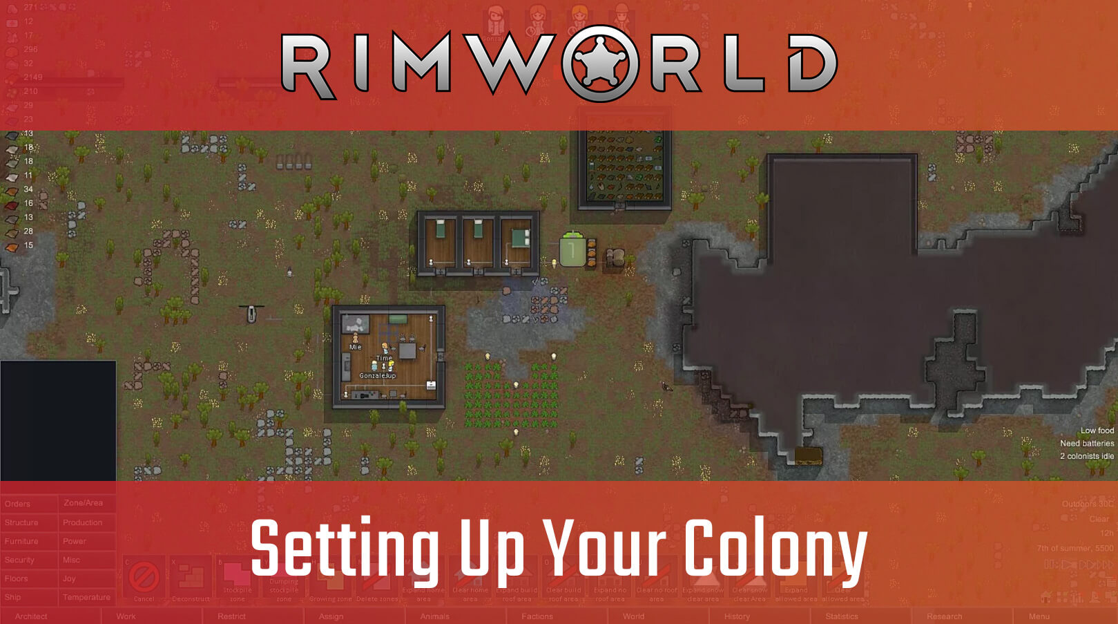 Setting Up Your Colony in RimWorld – Big Boss Battle (B3)