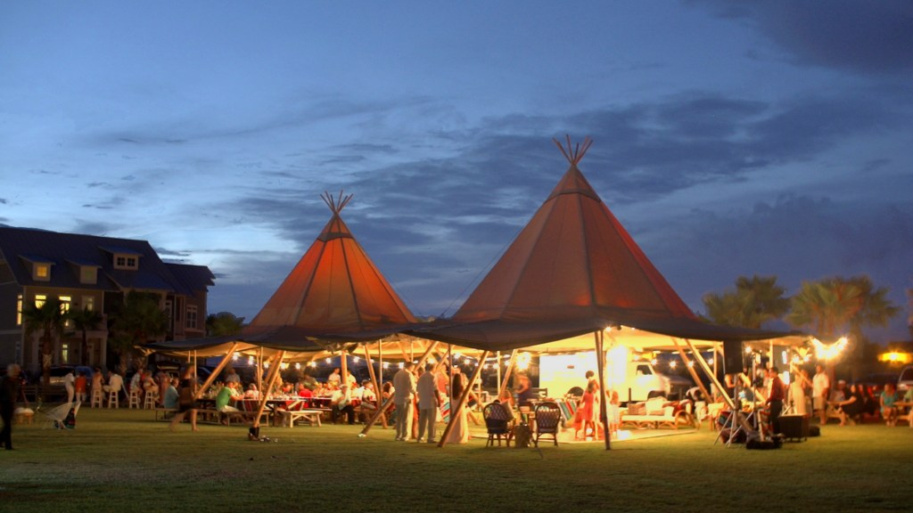 Wedding Tepee Reception