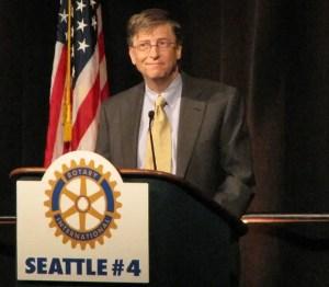 Bill Gates: Thank yo for giving us Microsoft