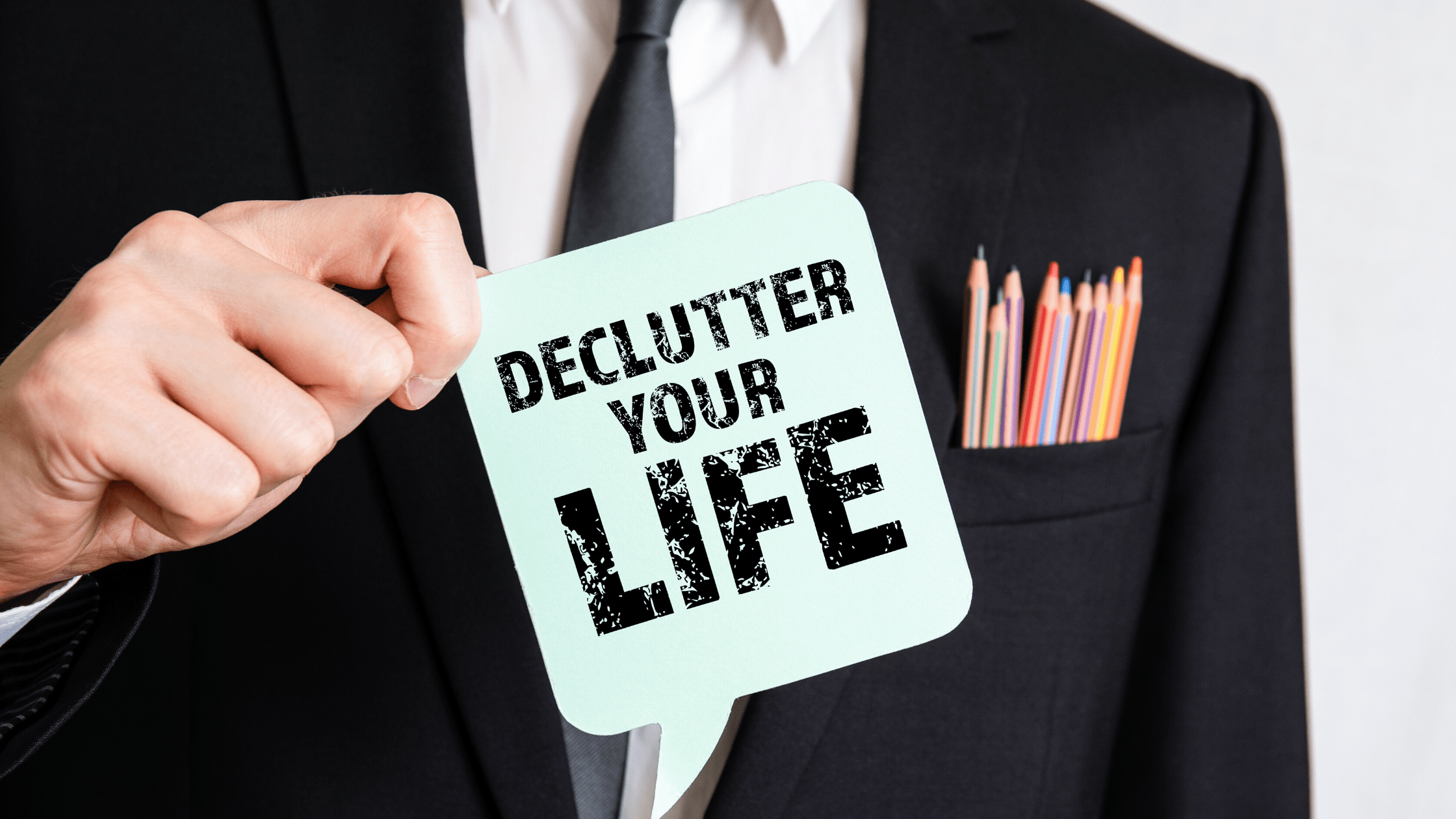 Declutter Your Life and Be happy!- bigbraincoach