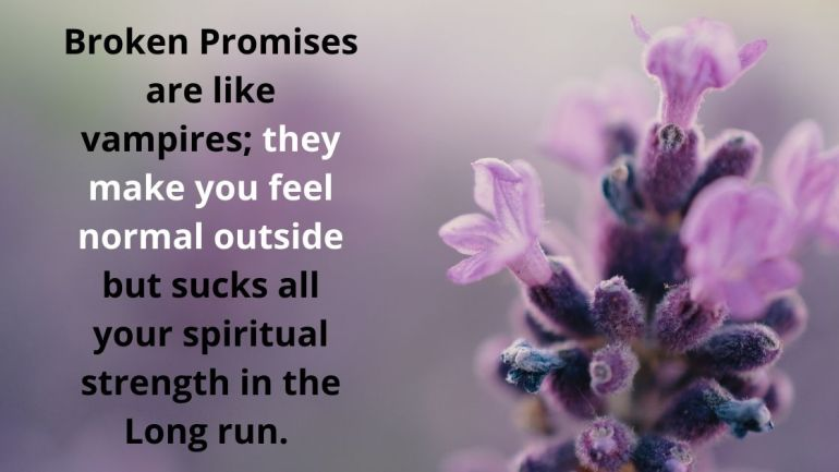 broken promises quotes Images