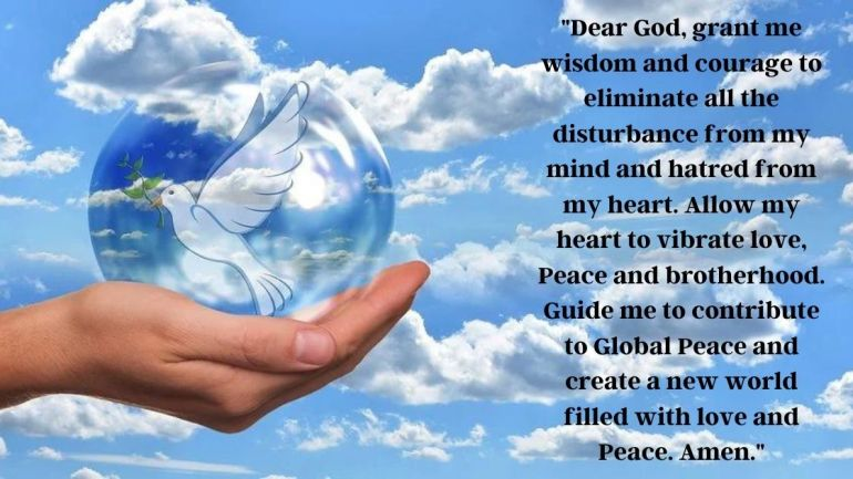 Prayers For Peace Images