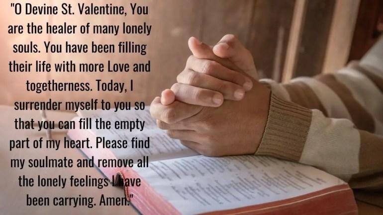 st valentine prayer Images