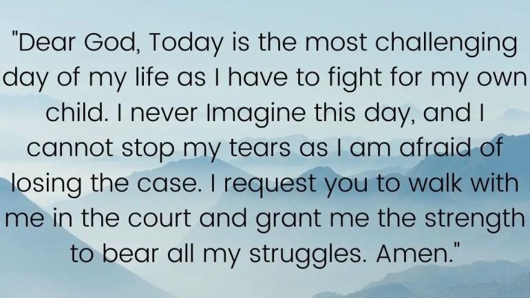 Prayer For Child Custody Images