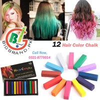 12 Temporary Hair Coloring Chalk