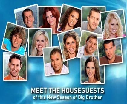 BIG BROTHER 12 Houseguests (CBS.com)