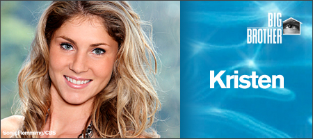 Kristen Bitting - BIG BROTHER 12 (CBS)
