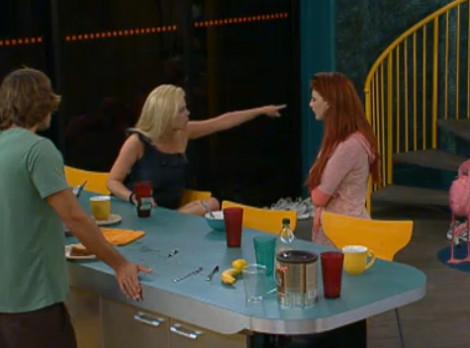 Kathy & Rachel Big Brother 12