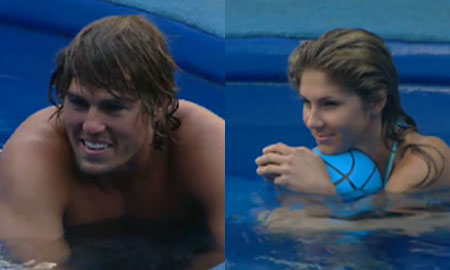 Hayden and Kristen Big Brother 12