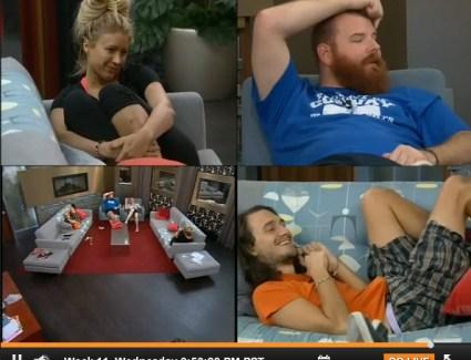 Big Brother 15 Week 11 Wednesday Live Feeds  (2)
