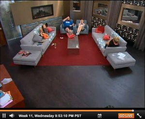 Big Brother 15 Week 11 Wednesday Live Feeds  (7)