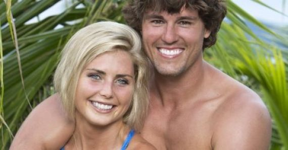 Hayden Moss and Kat Edorsson on Survivor - Source: CBS