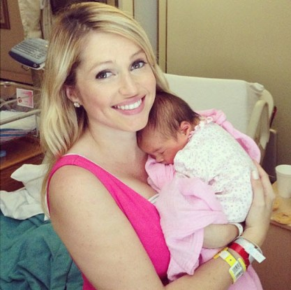 Britney Haynes and baby Tilly - Source: Instagram