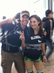 Rachel Reilly and Brendon Villegas - Source: Twitter