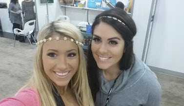 Amanda Zuckerman and GinaMarie Zimmerman - Source: Twitter