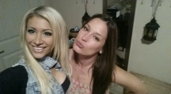 Big Brother 15 Houseguests GinaMarie and Jessie (CBS)