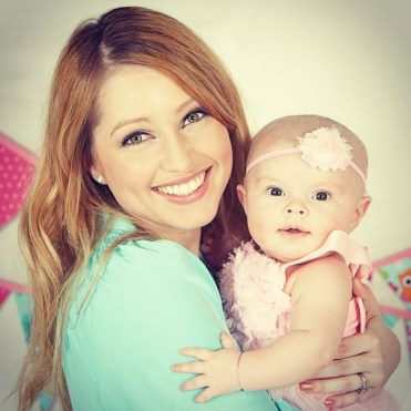Britney Haynes baby Tilly 4