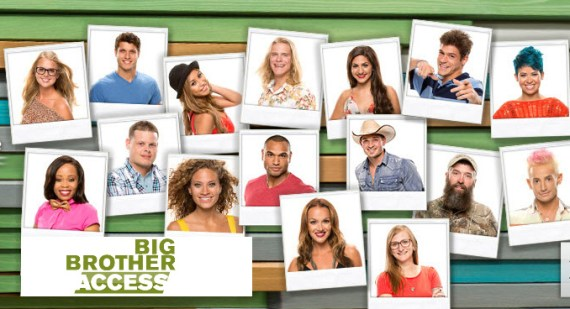 Big Brother 16 Cast (CBS)