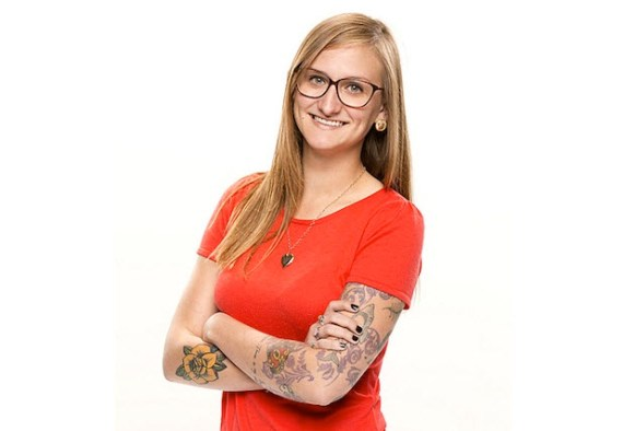 <center>Big Brother 16 Houseguest Christine Brecht (CBS)</center>