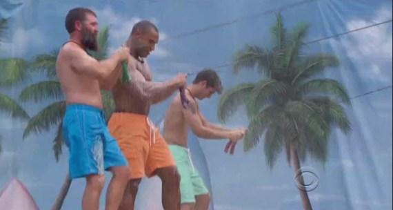 Big Brother 16 premiere HoH comp (CBS)