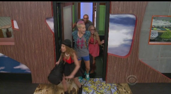 Big Brother 16 cast enters the house (CBS)