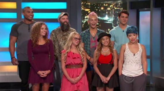 Big Brother 16 First Eight Houseguests (CBS)