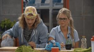 Big Brother Houseguests Hayden and Nicole  (CBS)