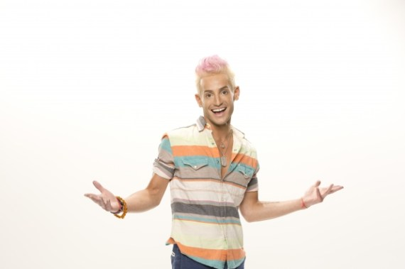 Big Brother 2014 Houseguest Frankie J. Grande (CBS)