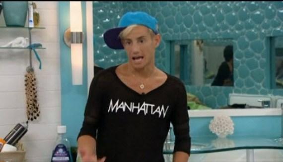 Big Brother 16 Hosueguest Frankie Grande (CBS)