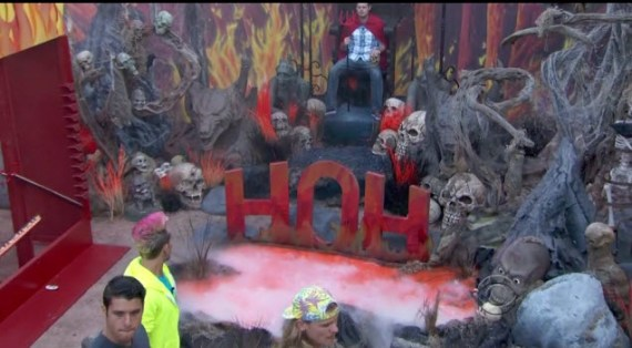 Big Brother 16 HoH Comp - July 17, 2014