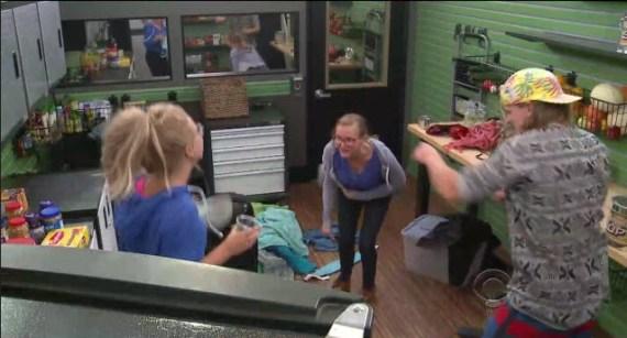 Big Brother 16 Houseguests Nicole, Christine, and Hayden (CBS)