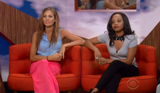 Big Brother 2014 Cast - Amber & Jocasta (CBS)