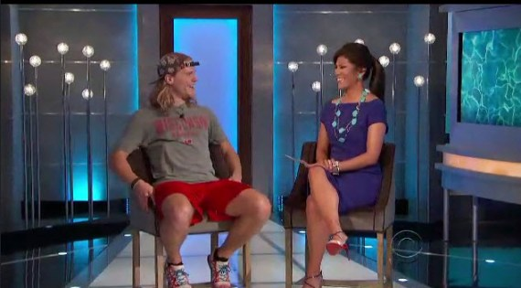 Big Brother 16 Host Julie Chen and Contestant Hayden
