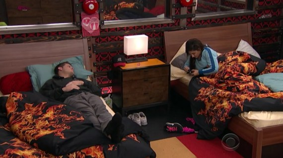 Big Brother 16-Derrick and Victoria Episode 35