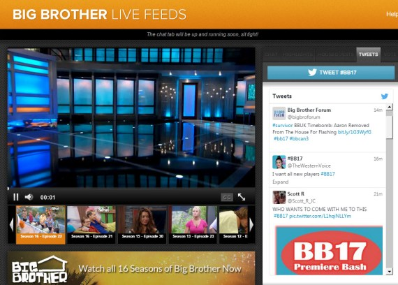 Big Brother Live Feeds Cameras